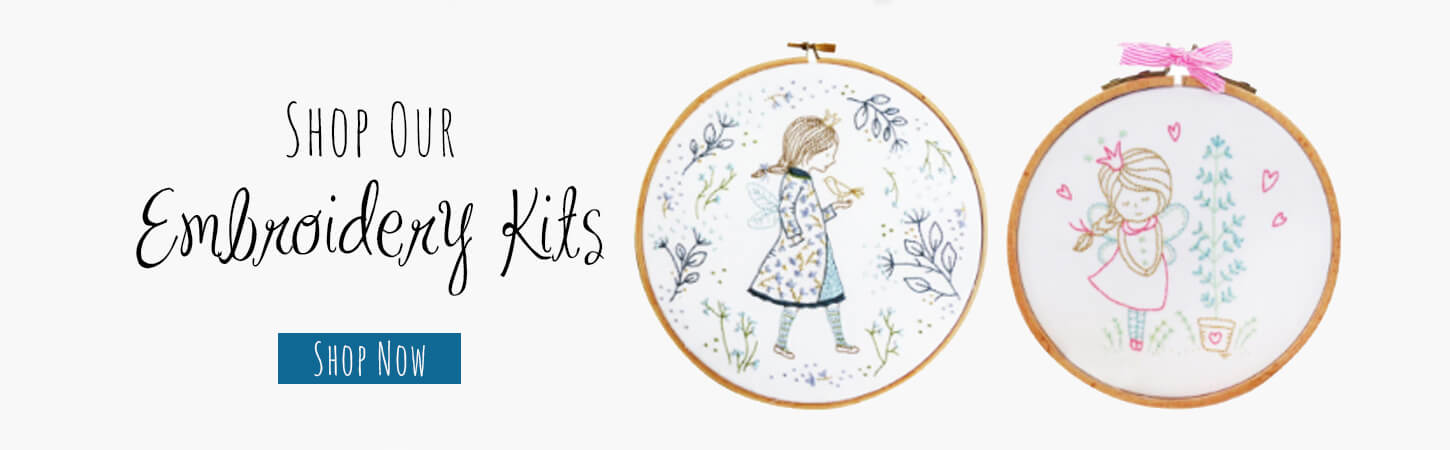 Shop Our Embroidery Kits