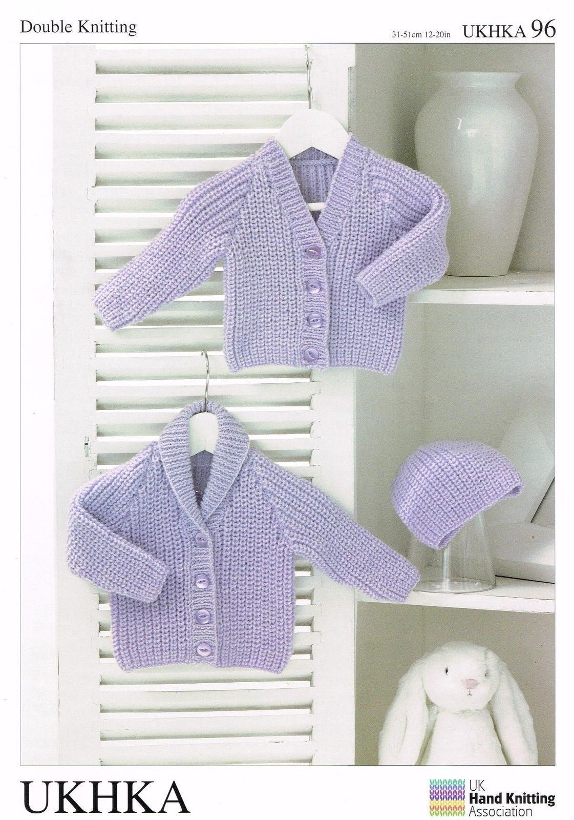 Ukhka Knitting Patterns : Knitting pattern ukhka baby dk cardigan hat