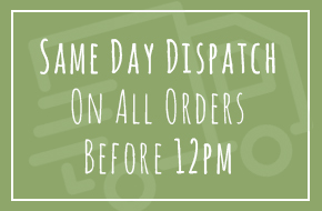 Same Day Dispatch On All Orders Before 12pm