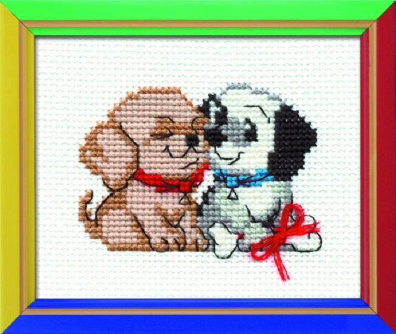Riolis Cross Stitch Kit. CONGRATULATIONS. Suitable for kids or beginners. HB-060