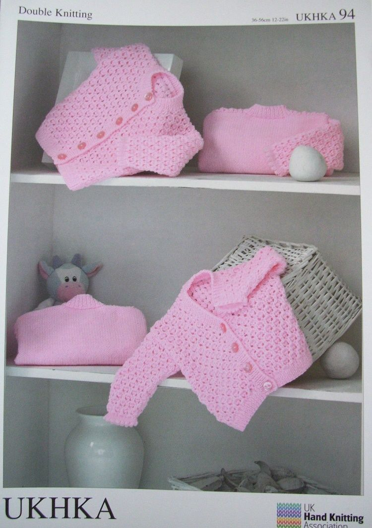 Ukhka Knitting Patterns : Ukhka double knitting baby pattern styles to