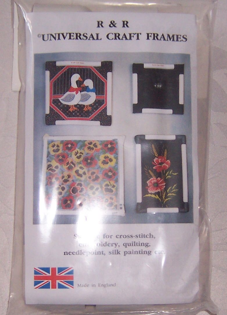 9 x 9 Clip Hand Frame from R & R Craft Frames. For cross stitch or ...