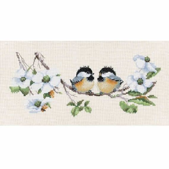 Blossom Buddies by Valerie Pfeiffer Cross Stitch Kit