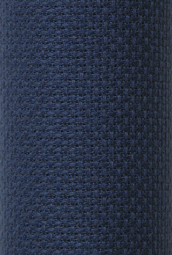 "Charles Craft Gold Standard 14 count Aida -Navy 15"" x 18"""