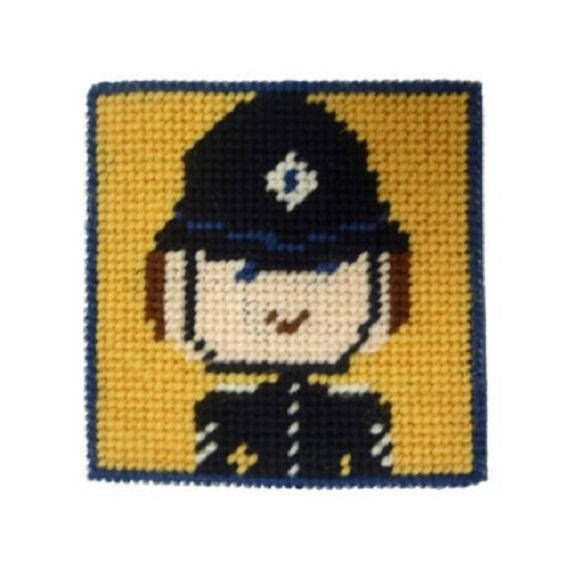 Mini Tapestry Starter Kit - Police  Officer (SK65)