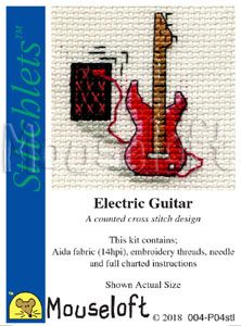 Mouseloft Stitchlets Electric Guitar