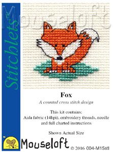 Mouseloft Stitchlets Fox