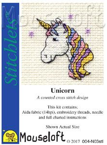 Mouseloft Stitchlets Unicorn