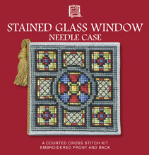 Stained Glass Window Needle Case Cross Stitch Kit