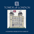 Tower of London Cross Stitch Card Kit
